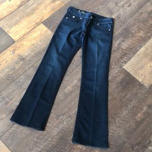 Kut From the Kloth Dark Boot Sequin So Low Jeans 2